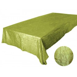 Banquet Tablecloth Krinkle Green