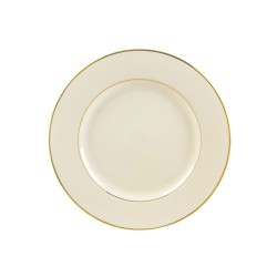 Ivory China with Gold Band Bread and Butter Plate 6 ½""