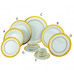 Imperial Gold China Set