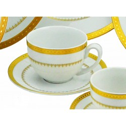 Imperial Gold Coffee Cup and Saucer