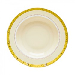 """Imperial Gold Soup Plate 8 ½"""""""