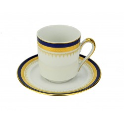Windsor Blue Demitasse Cup and Saucer