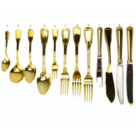 Hampshire Gold Plated Flatware