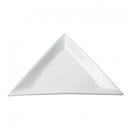"10"" Triangle Ceramic Platter"
