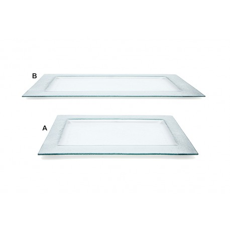 Rectangular Glass Platters