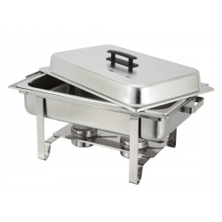 Stainless Rectangular 8 qt Chafer