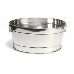 "19"" Stainless Ice Tub"