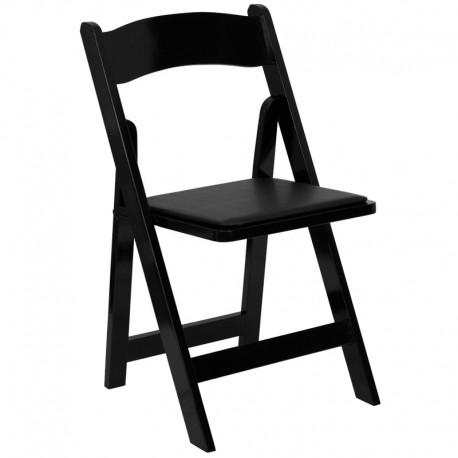 Premium Folding Chair Black